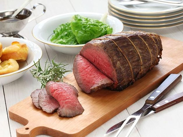 Roast Beef with Onion