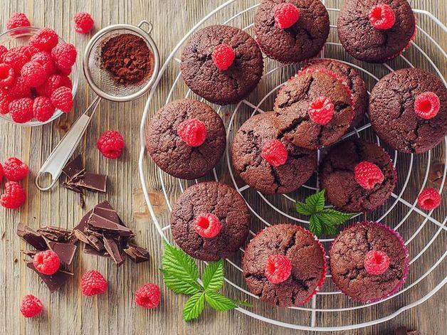 Muffins chocolat et petits fruits