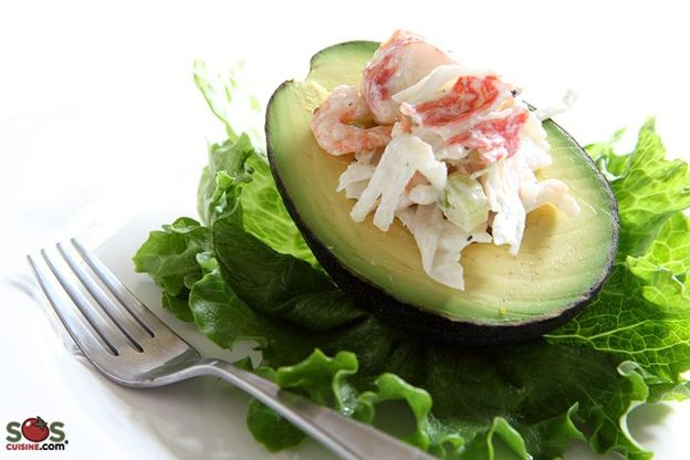 Thousand Island Snow Crab Salad