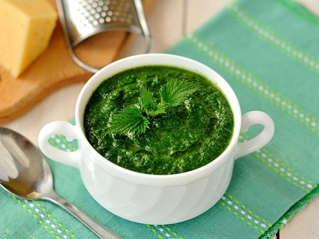 Soupe irlandaise aux orties