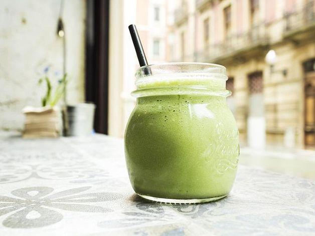 Frullato al tè verde