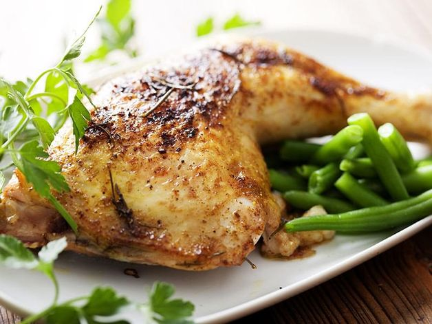 Marinated Chicken with Lemon, Pepper and Coriander