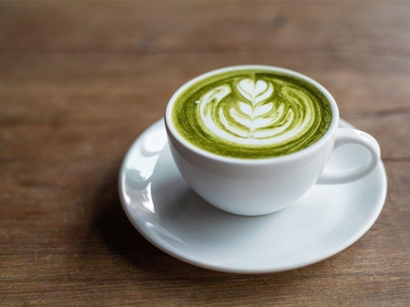 Cappuccino al tè verde