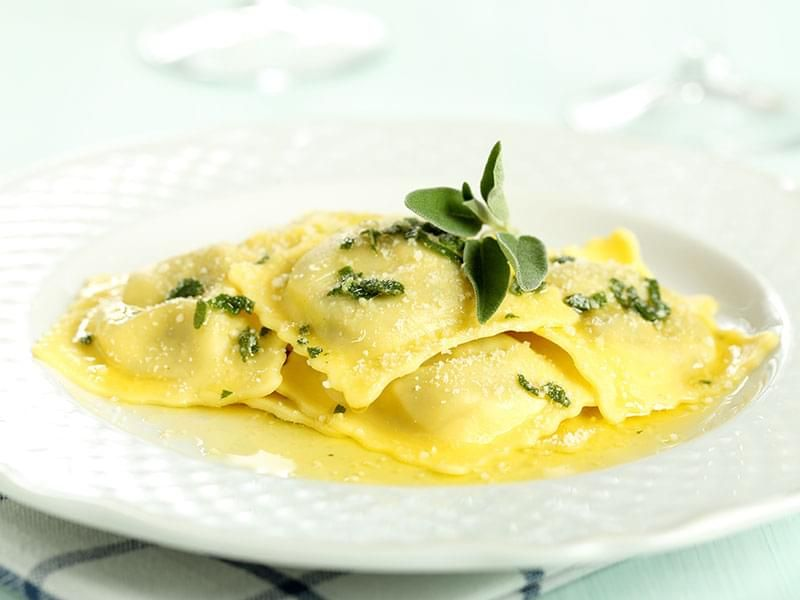 Butter and Sage Ravioli