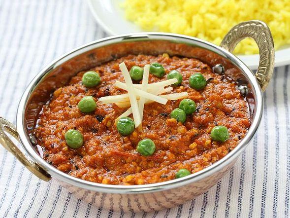 Boeuf et légumes au cari avec riz