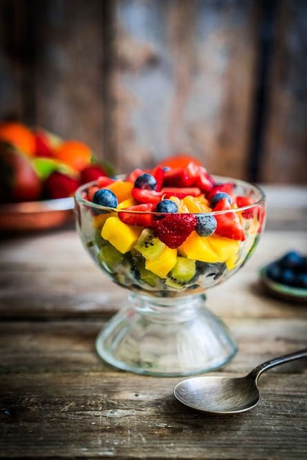 Fruit Salad with Limoncello