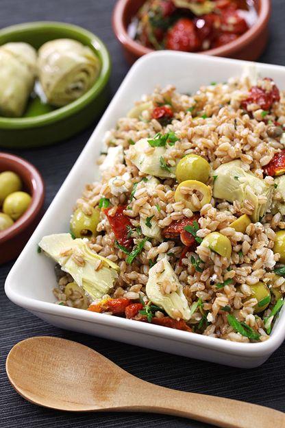 Mediterranean Spelt Salad