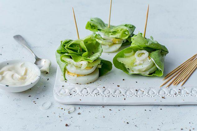 Egg Salad Lettuce Wrap