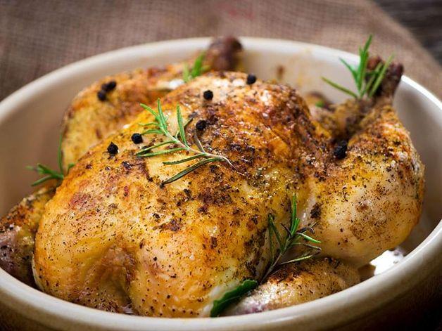 Pollo arrosto al rosmarino