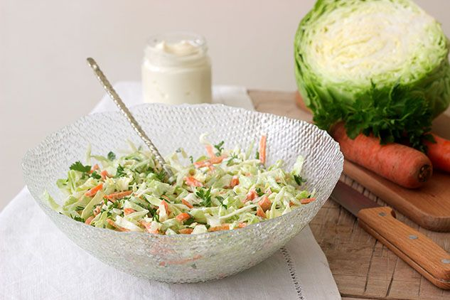 Winter Salad with Creamy Dressing