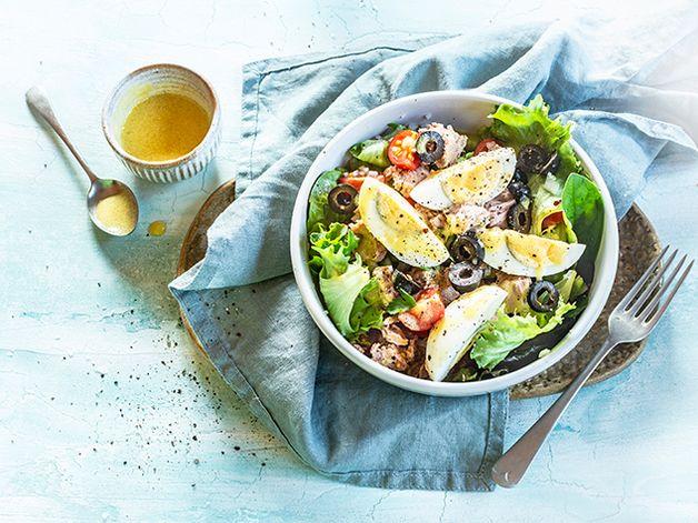 Tuna and Veggie Bowl