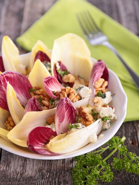 Endive Salad with Goat Cheese