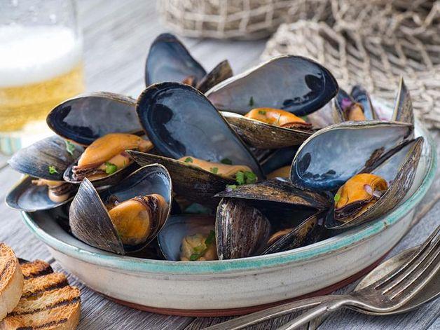 Mussels à l'anversoise