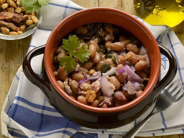 Tuna and Mixed Legume Salad