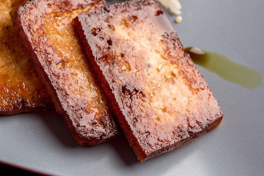 Tofu au gingembre au four