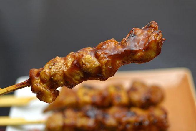 Japanese-Style Chicken Skewers