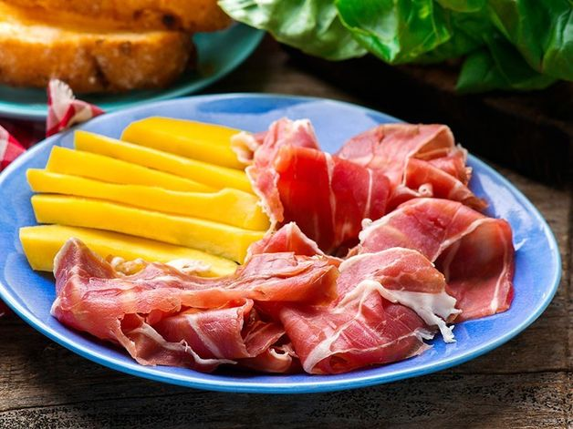 Prosciutto et Mangue