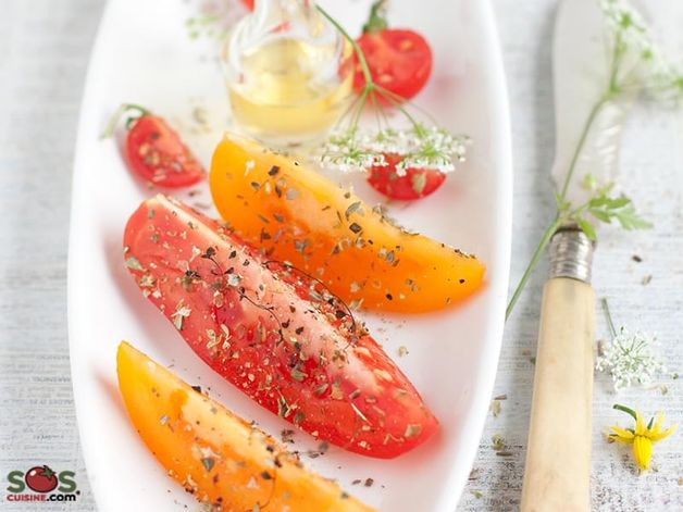 Tomato Salad with Oregano