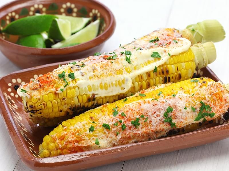 Corn on the Cob Mexican-Style