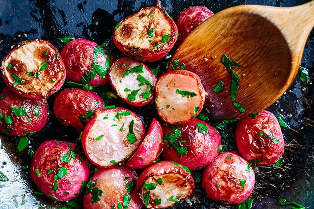 Radishes with Chives