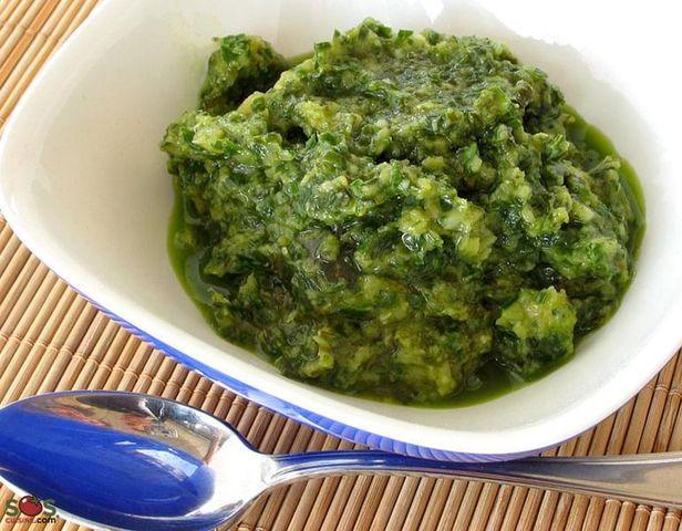 Roasted Garlic and Basil Sauce