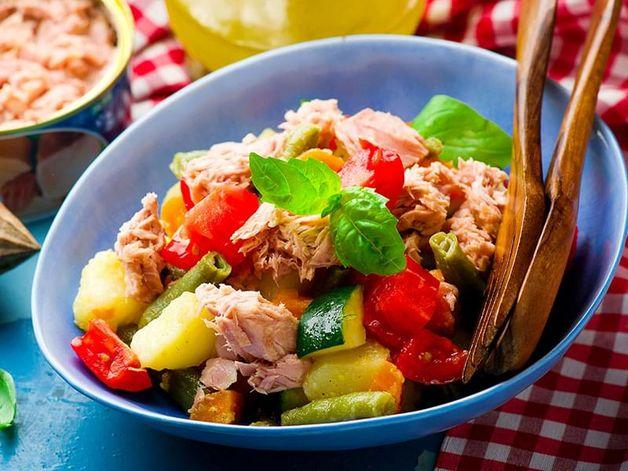 Salade génoise au thon
