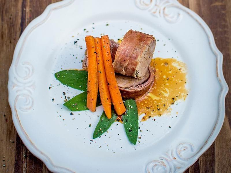 Filet de porc au prosciutto