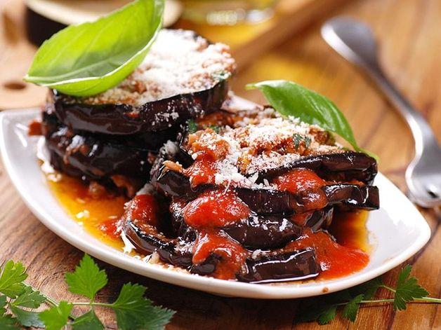 Baked Aubergine Parmesan