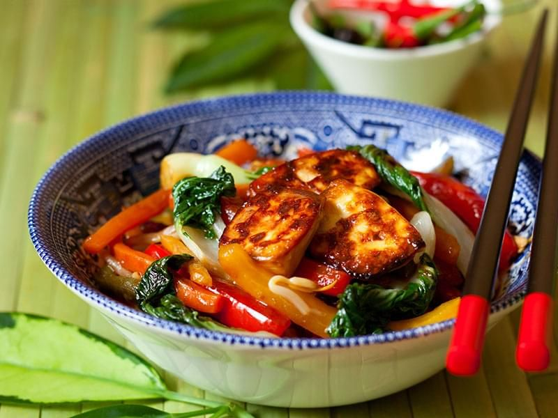 Quick Tofu and Vegetable Stir-Fry