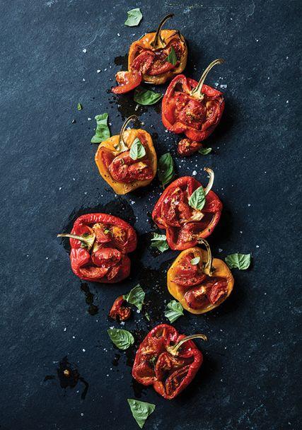 Tomato-Stuffed Peppers