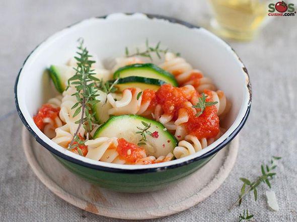 Fusilli with Zucchini
