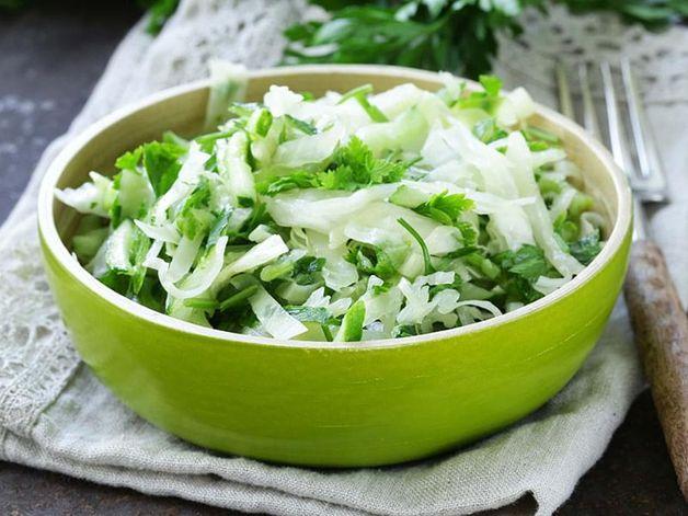 Cabbage and Arugula Salad