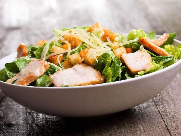 Grilled-Chicken Caesar Salad