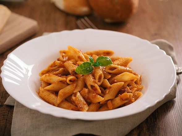 Pasta in a Bolognese Meat Sauce
