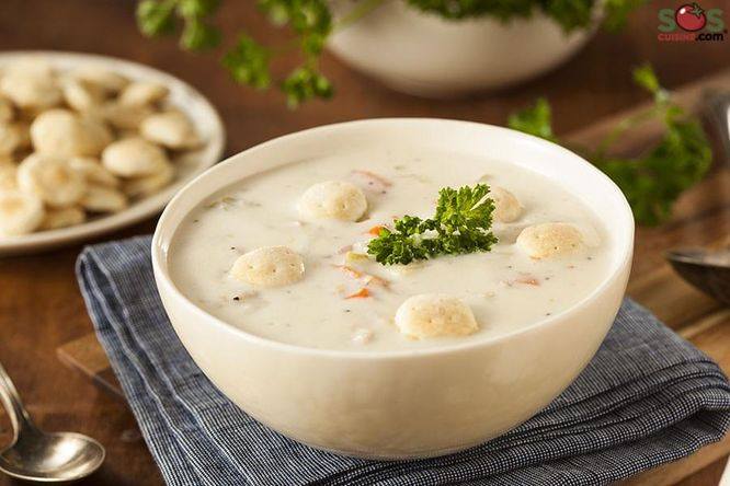 Clam Chowder with Mussels