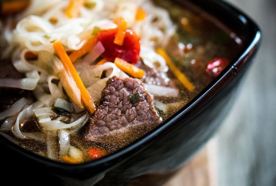 Oriental Beef and Vegetable Soup