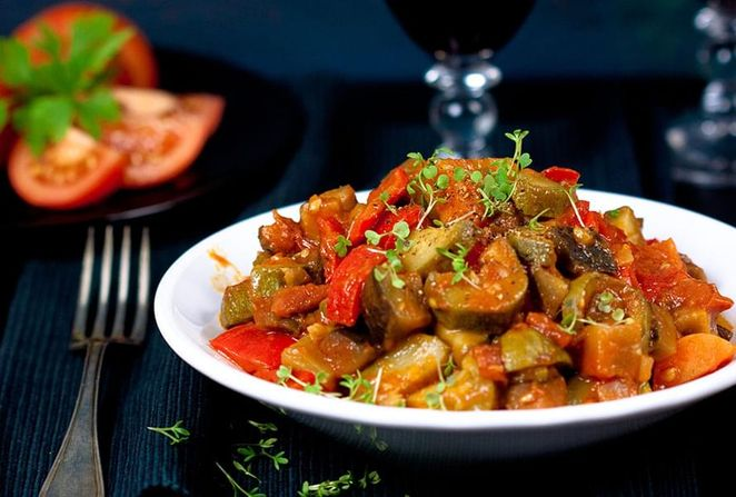 Ratatouille with Tofu