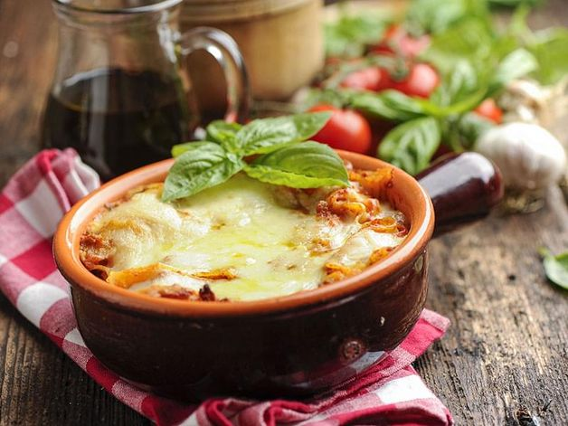 Lasagna with Tomato Sauce