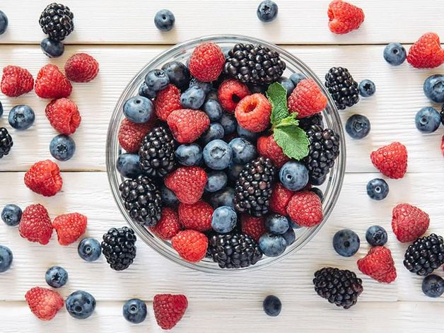 Mélange de petits fruits